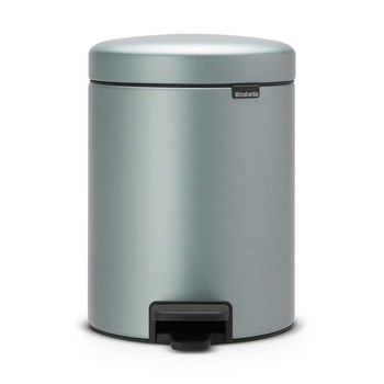 NewIcon Pedal Bin - 5 Litres - Metallic Mint