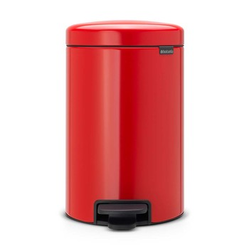 NewIcon Pedal Bin - Passion Red