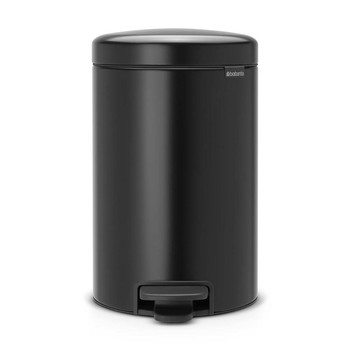 NewIcon Pedal Bin - Matt Black