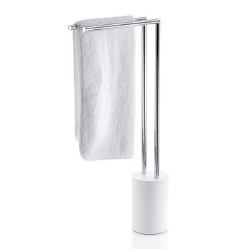 Stone HT2 Towel Stand - White/Chrome