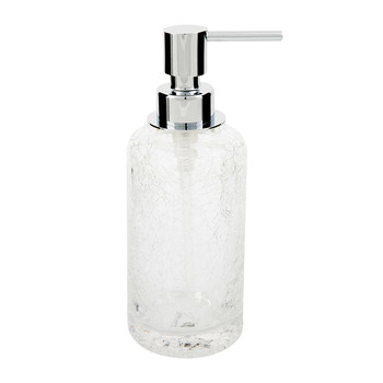 CRSSP Crack Soap Dispenser - Chrome