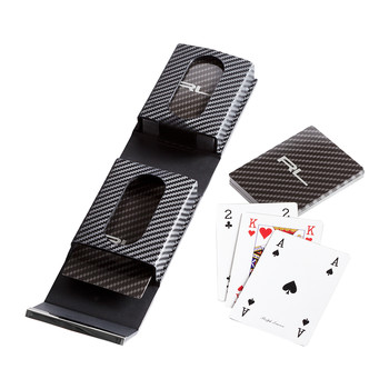 Sutton Carbon Fibre Playing Card - Set of 2