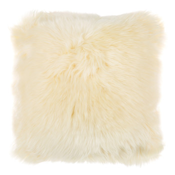 New Zealand Sheepskin Pillow - 35x35cm - Light Honey