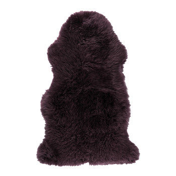 New Zealand Sheepskin Rug - 100x160cm - Aubergine