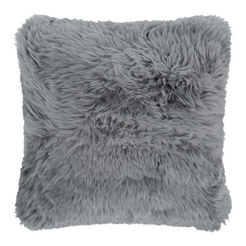 Hestia Sheepskin Pillow - 50x50cm - Steel