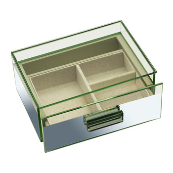 Reflection Glass Box with Lid