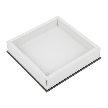 Ourea Square Leather Trinket Tray - Ice Golf