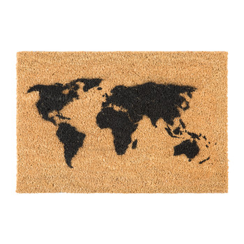 Map Door Mat
