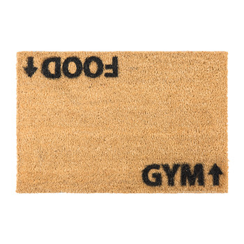 Food/Gym Door Mat