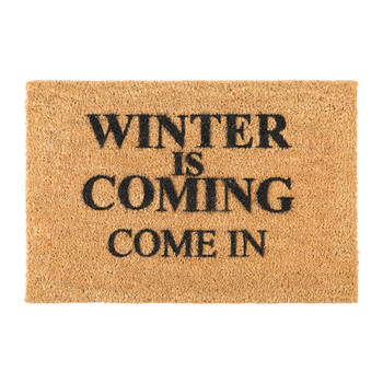 Winter is Coming Door Mat