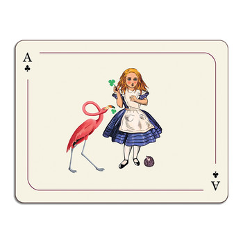 Louise Kirk - Alice in Wonderland Table Mat - Alice