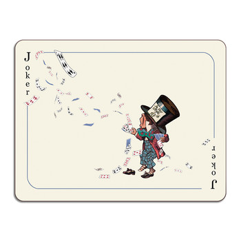 Louise Kirk - Alice in Wonderland Table Mat - Joker