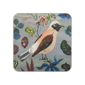 Nathalie Lété - Birds in the Dunes Coaster - Wheatears