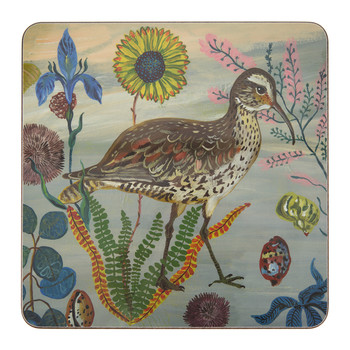 Nathalie Lété - Birds in the Dunes Placemat - Eskimo Curlew