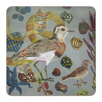 Nathalie Lété - Birds in the Dunes Placemat - Caspian Plover