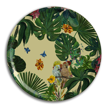 Nathalie Lété - Jungle Tray - Cockatoo