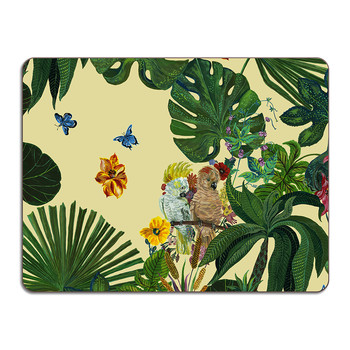 Nathalie Lété - Jungle Table Mat - Cockatoo