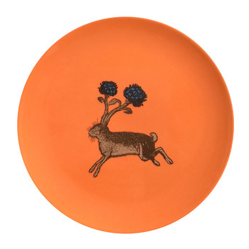 Puddin' Head - Animal Dining Plates - Hare