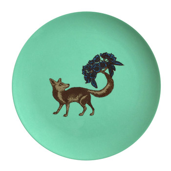 Puddin' Head - Animal Dining Plates - Fox