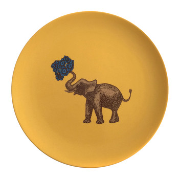 Puddin' Head - Animal Dining Plates - Elephant