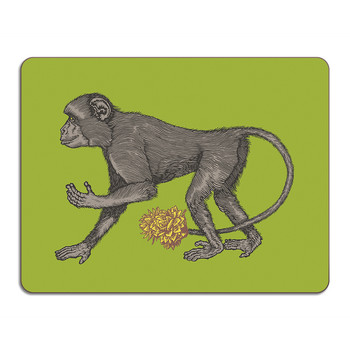 Puddin' Head - Animal Table Mat - Monkey