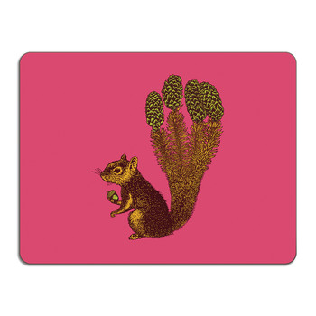 Puddin' Head - Animal Table Mat - Squirrel