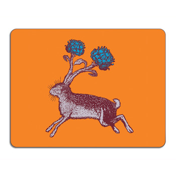 Puddin' Head - Animal Table Mat - Hare