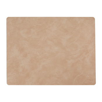Table Mat Rectangle - Peach - Large
