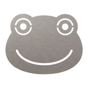 Frog Floor Mat - 95x70cm - Light Grey