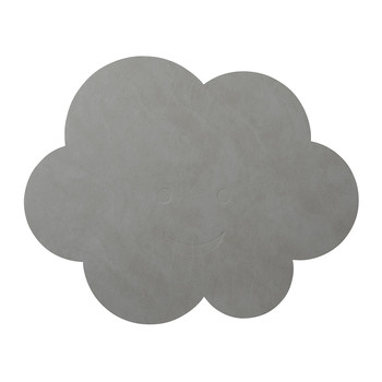 Children's Table Mat - Metallic Cloud