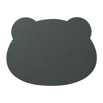 Children's Table Mat - Pastel Green Frog