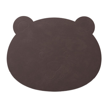 Children's Table Mat - Purple Bear