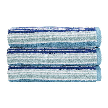 Bamford Stripe Towel - Fresh