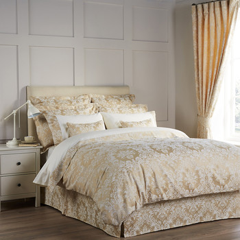 Serena Duvet Cover - Gold