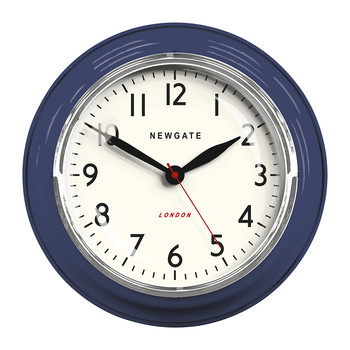 The Cookhouse Wall Clock - Inkwell Blue