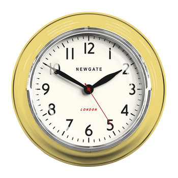 The Cookhouse Wall Clock - Squeezy Lemon