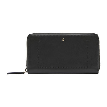 Fairford Leather Purse - Black