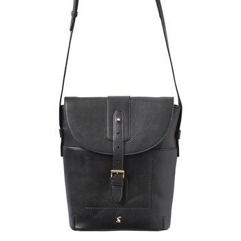 Tourer Leather Cross-Body Bag - Black