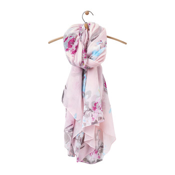 Harmony Woven Scarf - Rose Pink Beau Floral