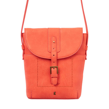 Tourer Bright Cross-Body Bag - Soft Coral