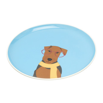 Barking Side Plate - Airedale