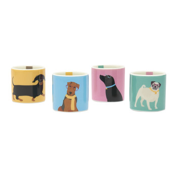 Dippy Dog Egg Cup - Set of 4