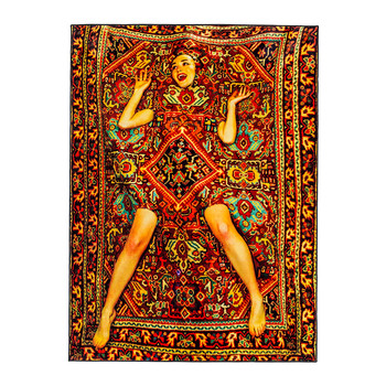Lady in Carpet Rug - Lady in Carpet