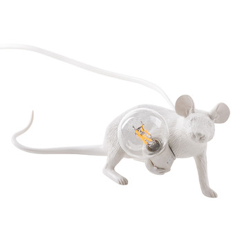 Mouse Lamp - Laying Down