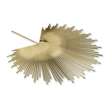 Palm Decorative Dish - Brass