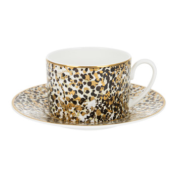 Camouflage Coffee Cup & Saucer