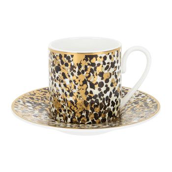 Camouflage Teacup & Saucer