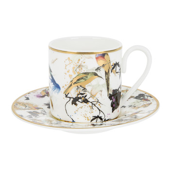 Garden Birds Coffee Cup & Saucer