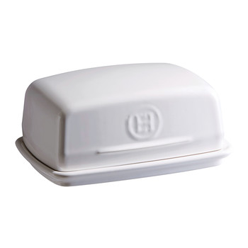 Kitchen Tools Ceramic Butter Dish - White