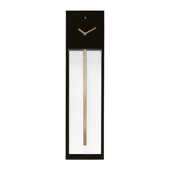 Uaigong Pendulum Cuckoo Clock - Black & Gold